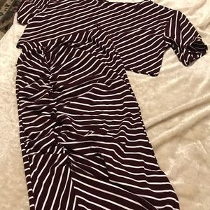 Free People NWOT striped crop top and maxi skirt